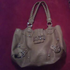 Tan guess purse